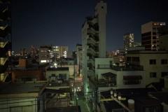 der Blick von der Dachterrasse