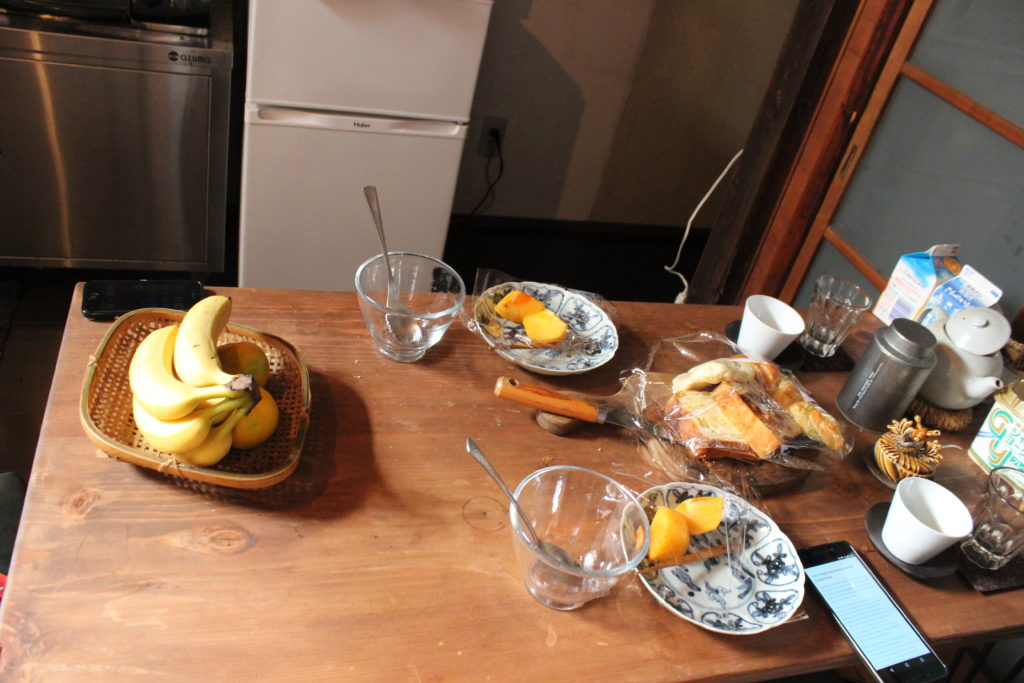 lecker Frühstück haben wir auch bekommen